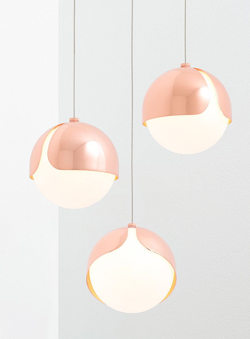 Anony Copper Ohm 03 hanging lamp