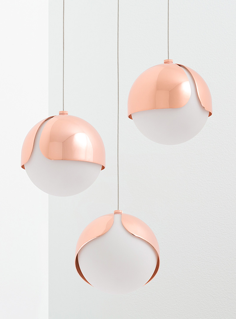 Ohm 03 hanging lamp - Anony - Copper