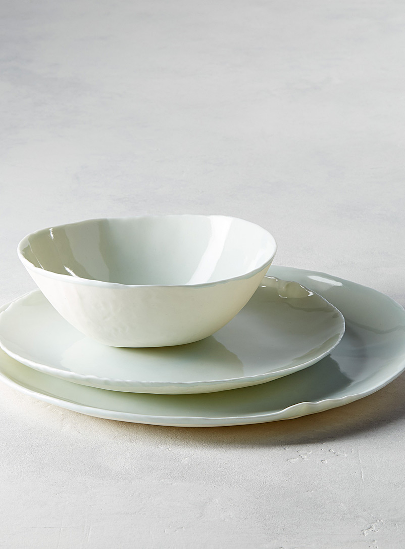 Waves dinnerware  3-piece set