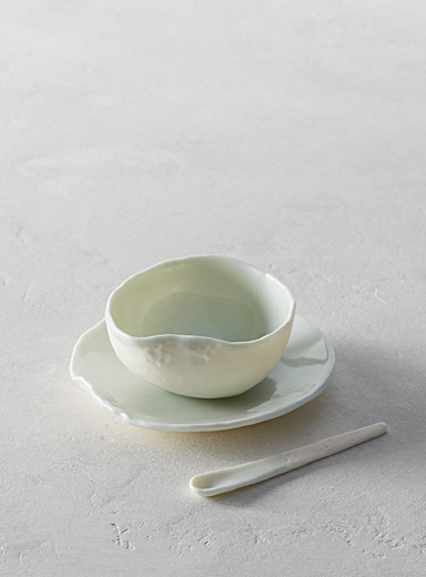 Waves dinnerware set  3-piece set