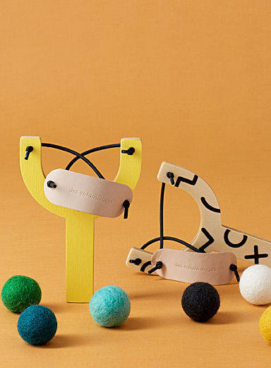 Pompom slingshot  Set of 2
