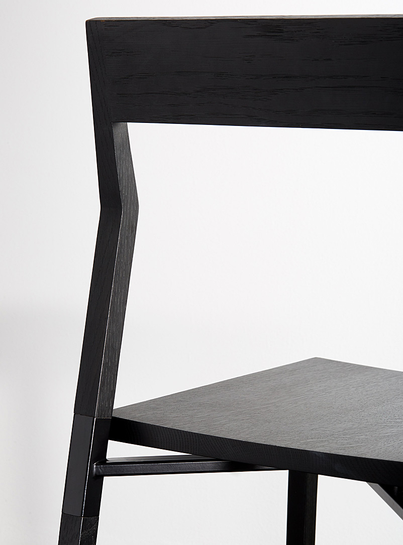 Parkdale oak chair - hollis + morris - Black