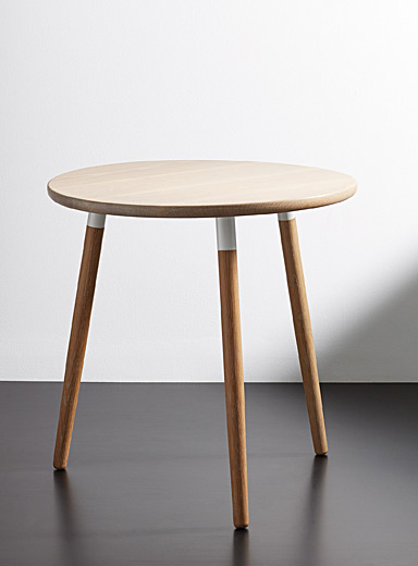La table d'appoint Crescenttown