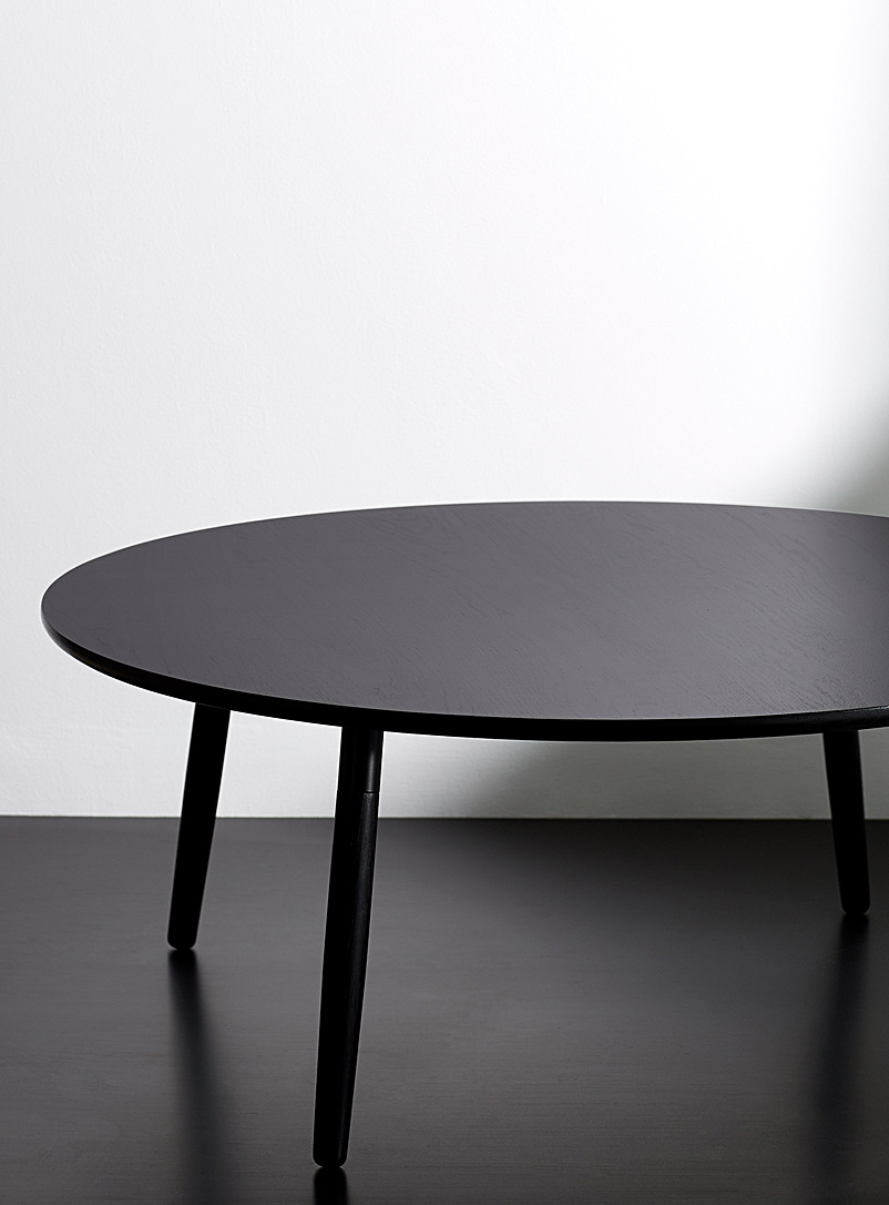 La table à café Crescenttown - hollis + morris - Noir