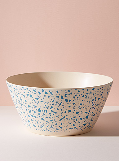 Lido bamboo serving bowl