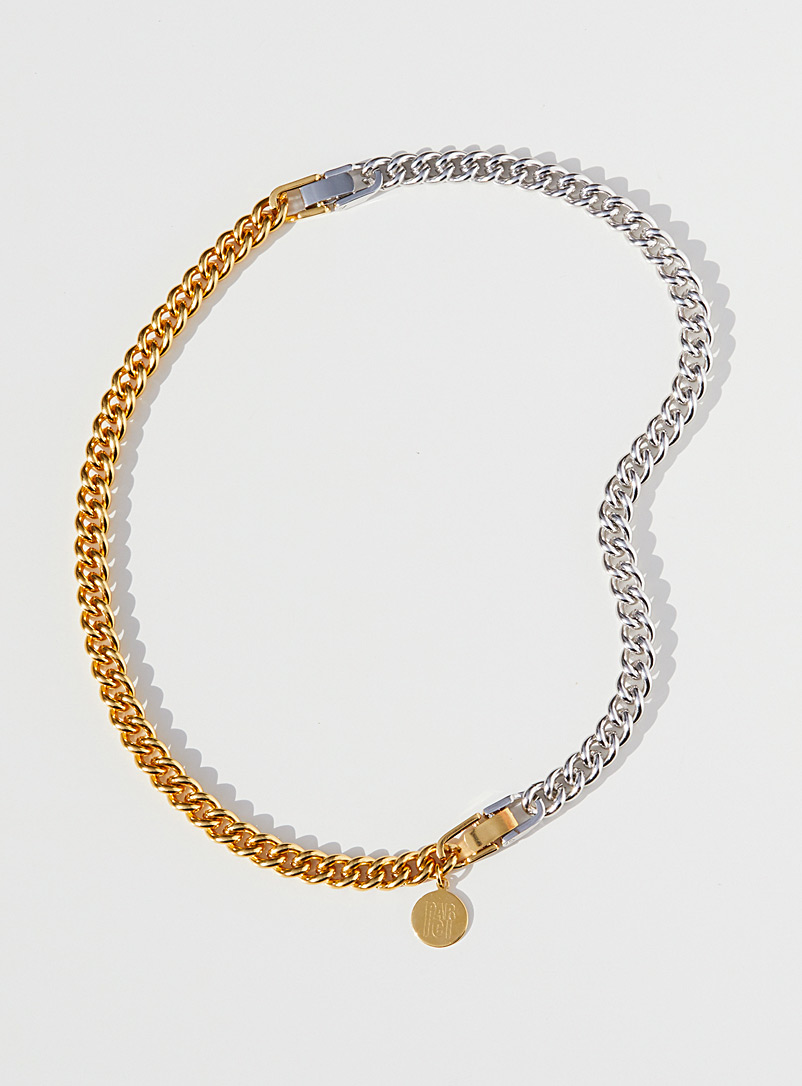 Le collier bicolore 3-en-1 loquet