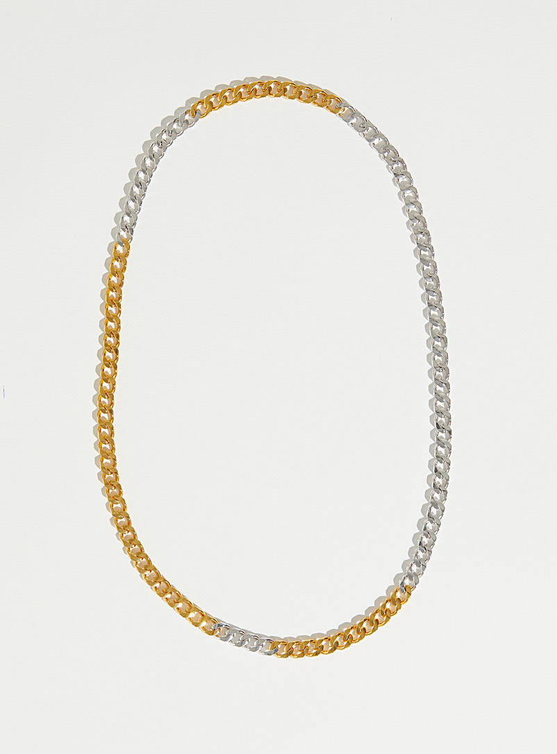 Par ici jewellery Assorted Two-tone chain