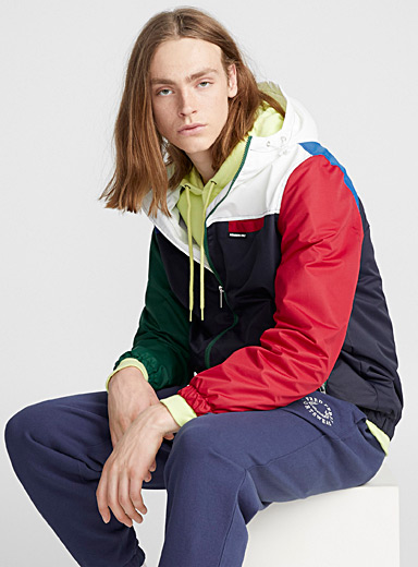 Nautical block windbreaker