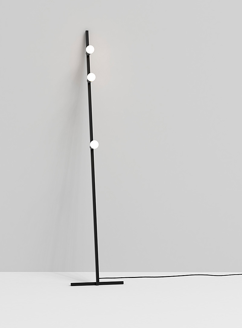 Lambert & Fils Black Dot Line floor lamp