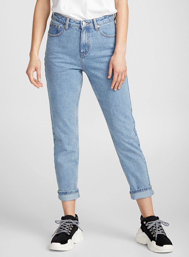 Stevie tapered high-rise jean - High Rise - Baby Blue