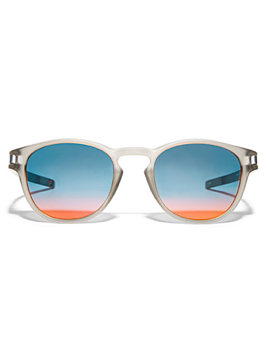 Latch round sunglasses