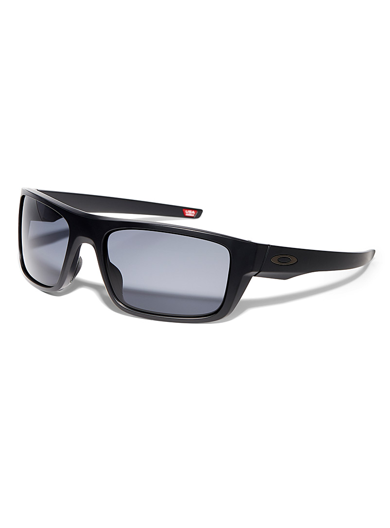 Drop Point rectangular sunglasses - Designer - Black