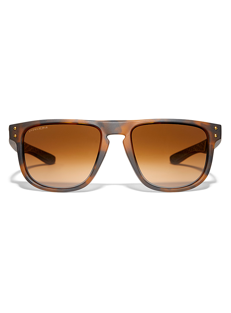 Oakley Patterned Brown Holbrook R square sunglasses for men