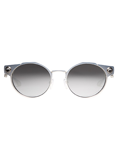 Deadbolt round sunglasses