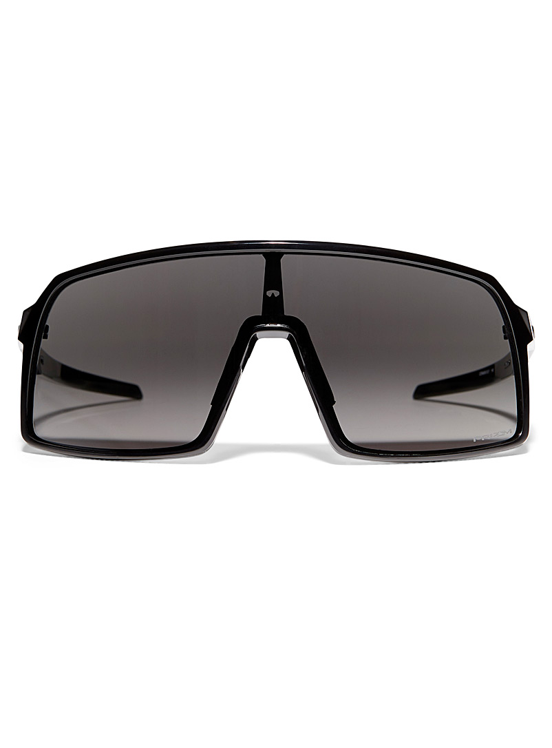 Oakley Black Sutro mask sunglasses for men