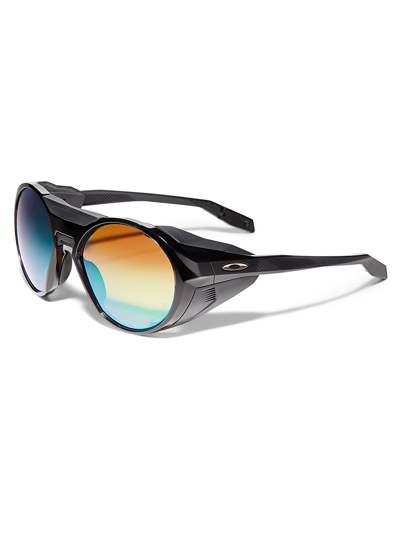 Oakley Black Clifden round sunglasses for men