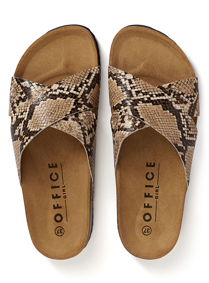 Hoxton 2 sandals - Sandals - Patterned White
