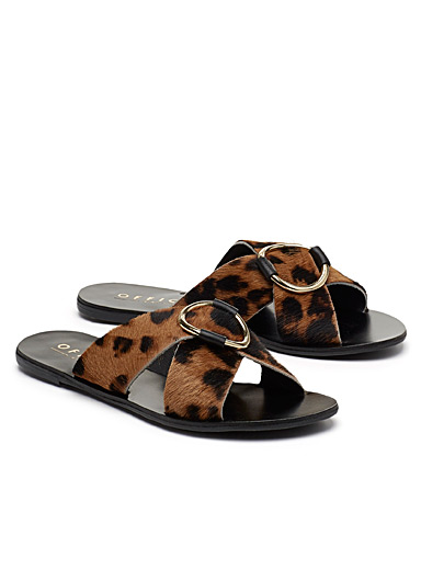 Spirit brown ring sandals