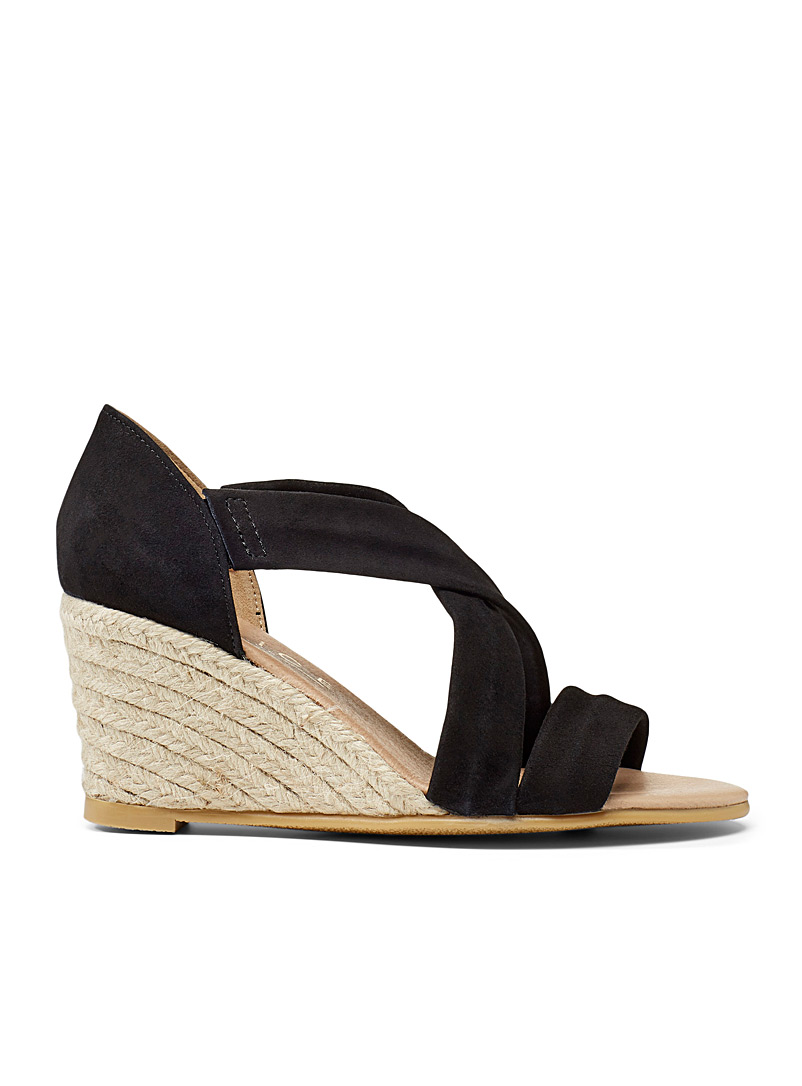 Office Black Maiden heeled sandals for women
