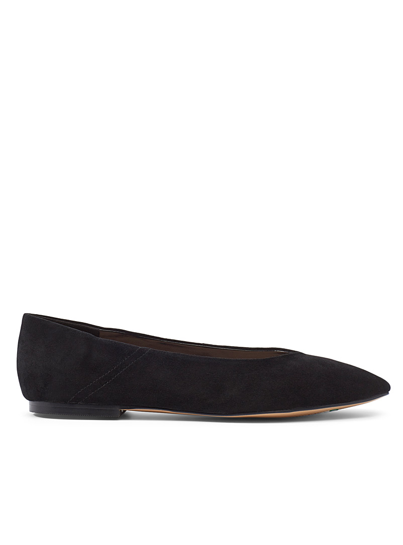 Fennel suede ballet flats