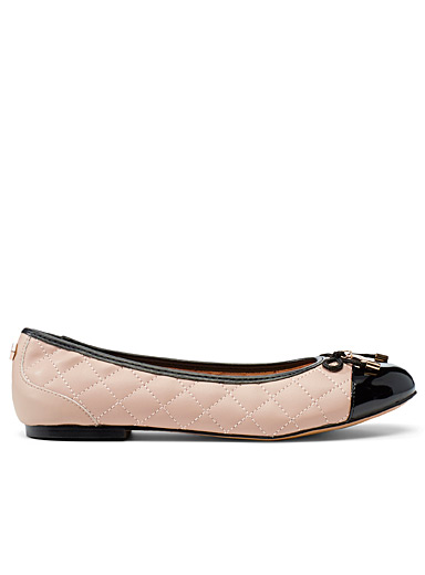 Office Tan Florence ballet flats for women