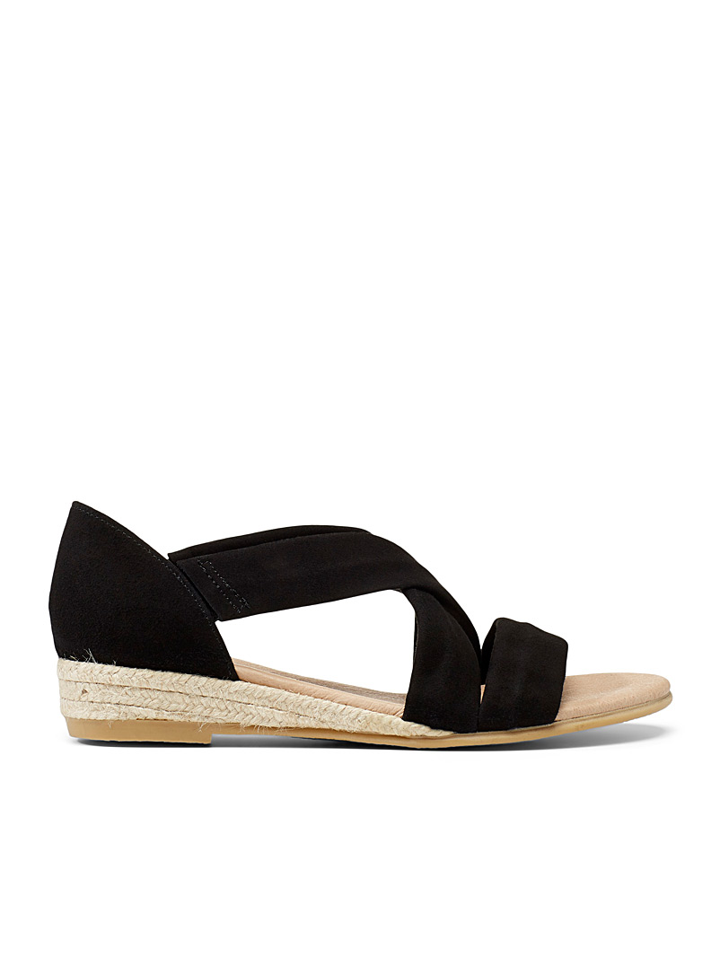 Office Black Hallie espadrille sandals for women