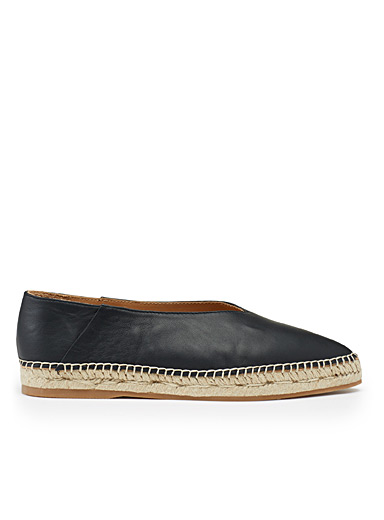 Adril leather espadrilles