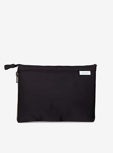 Cote & Ciel Black Zaan nylon sleek bag for men