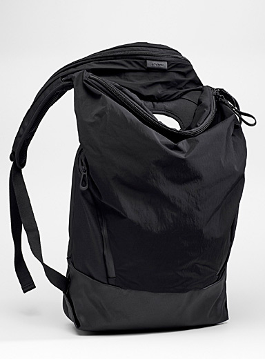 Cote & Ciel Black Timsah backpack for men