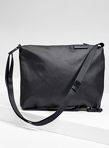 Cote & Ciel Black Inn shoulder bag for men