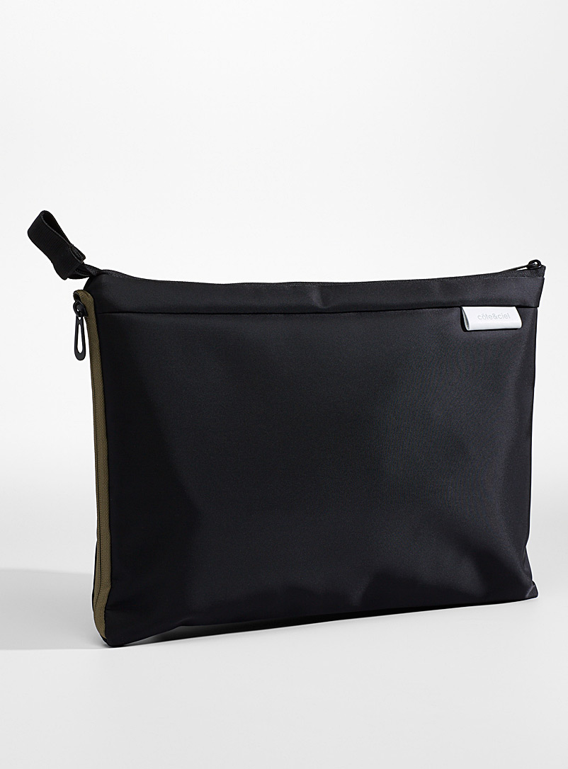 Cote & Ciel Black Zaan bag for women