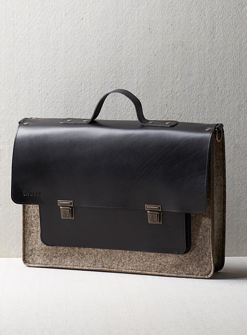 Cantin Grey Réginald satchel