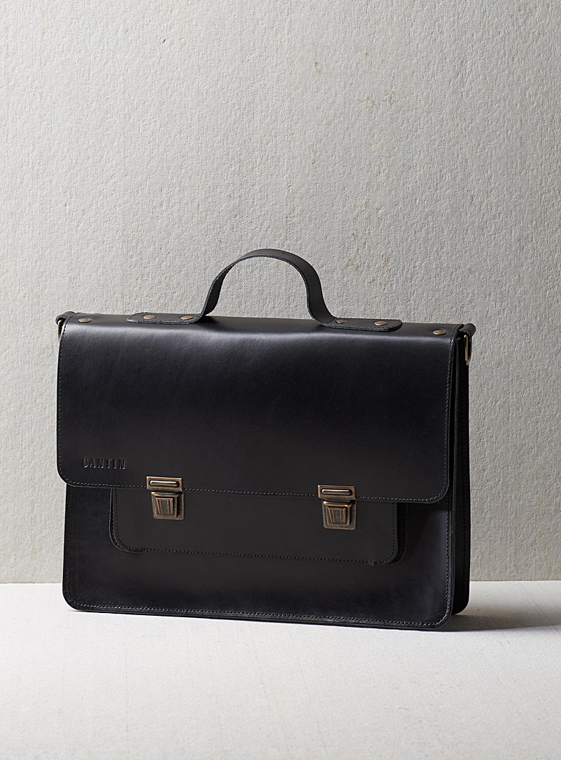 Cantin Black Jeanne satchel