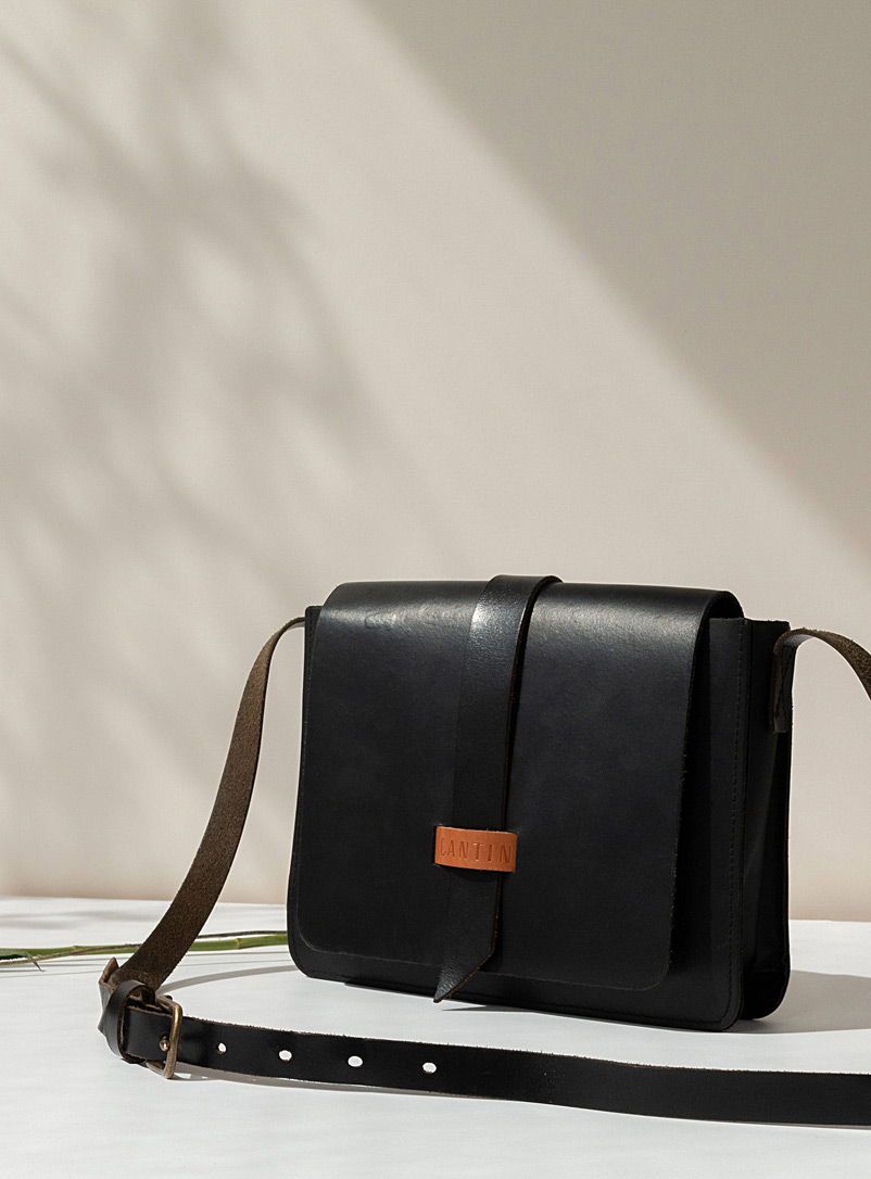 little-louis-black-bag