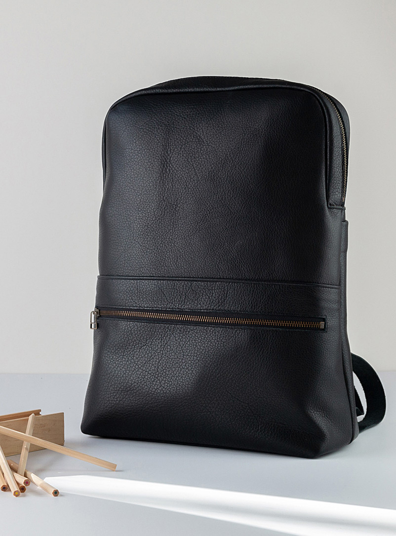 Marius backback - CANTIN - Black