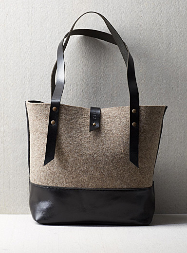 Cantin Taupe Madeleine tote bag
