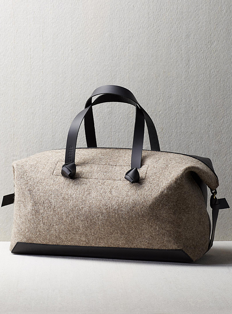Cantin Taupe Eugene travel bag