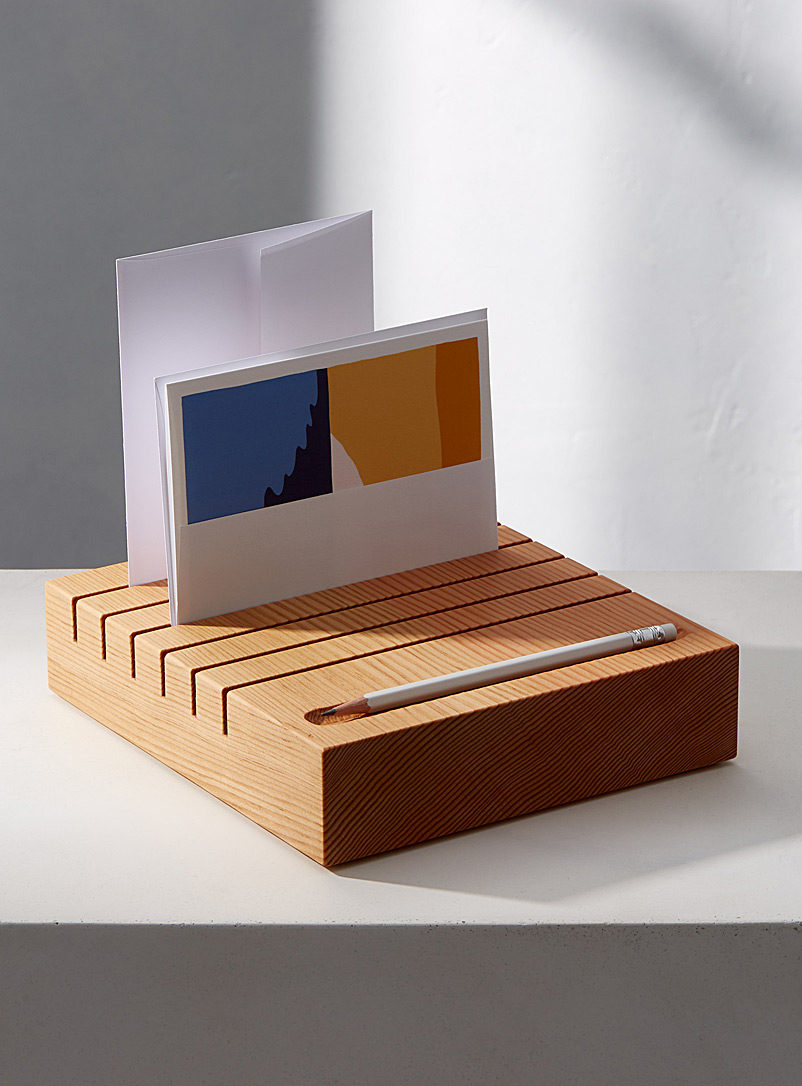 Desk organizer  Large size - Emma Senft - Fir Wood