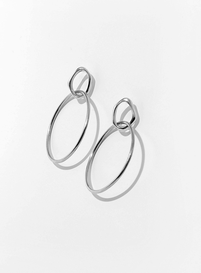 Cadette Silver Isobel silver earrings
