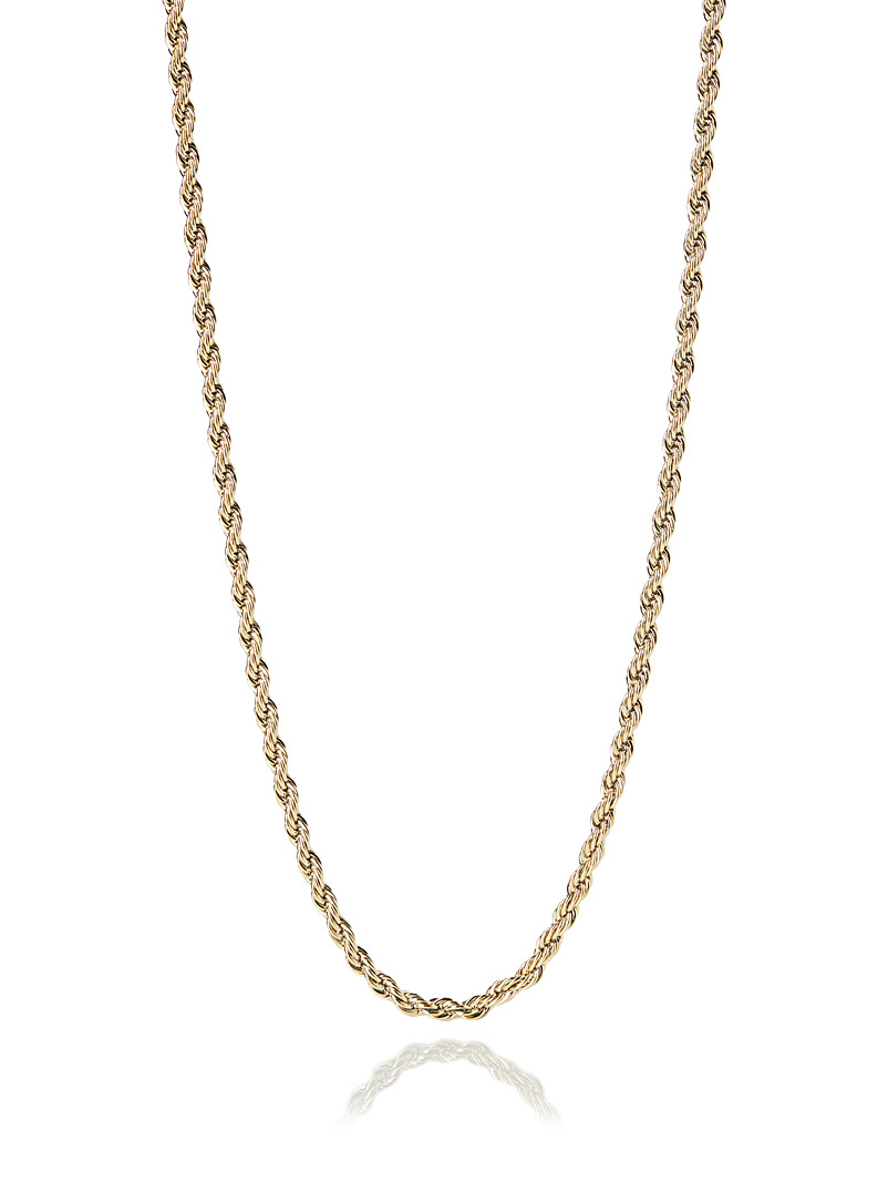 Rope-a-Dope slim chain necklace - Necklaces - Assorted