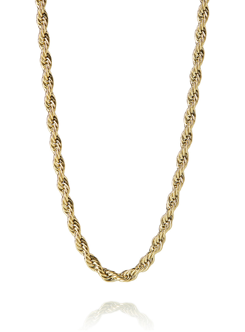 Rope-a-Dope wide chain necklace - Necklaces