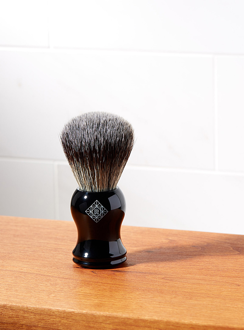 Synthetic shaving brush - Men's Grooming - Black