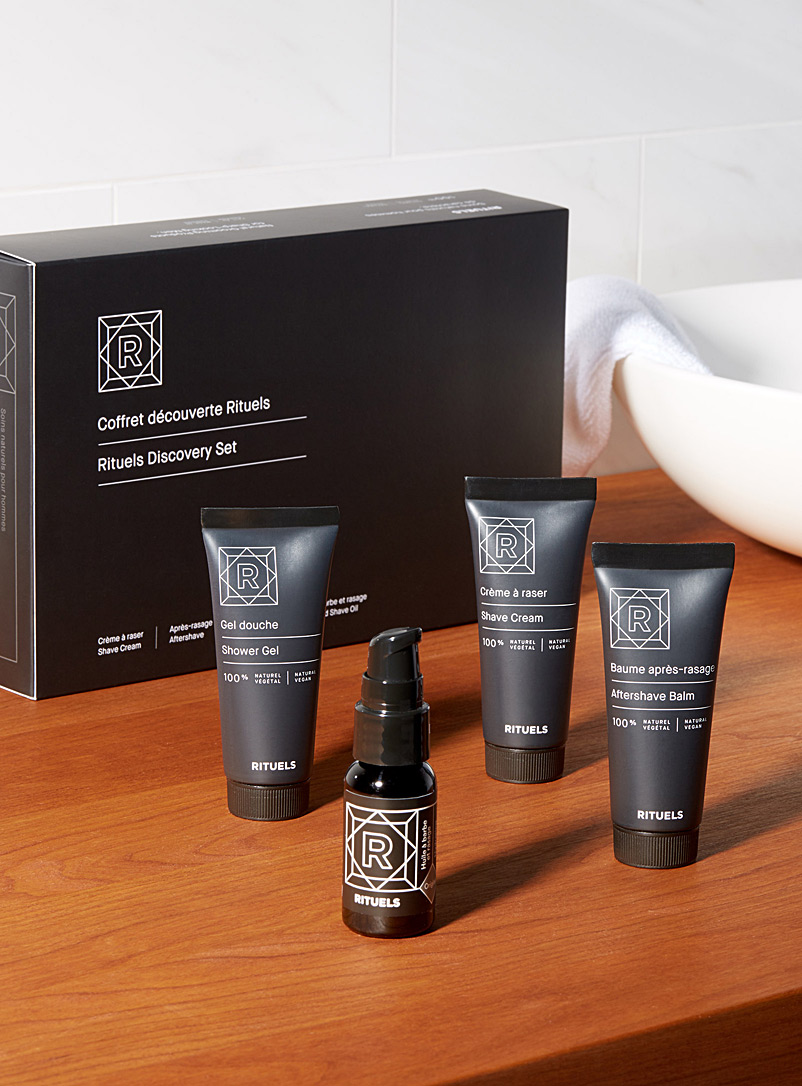 Discovery set - Men's Grooming - Black