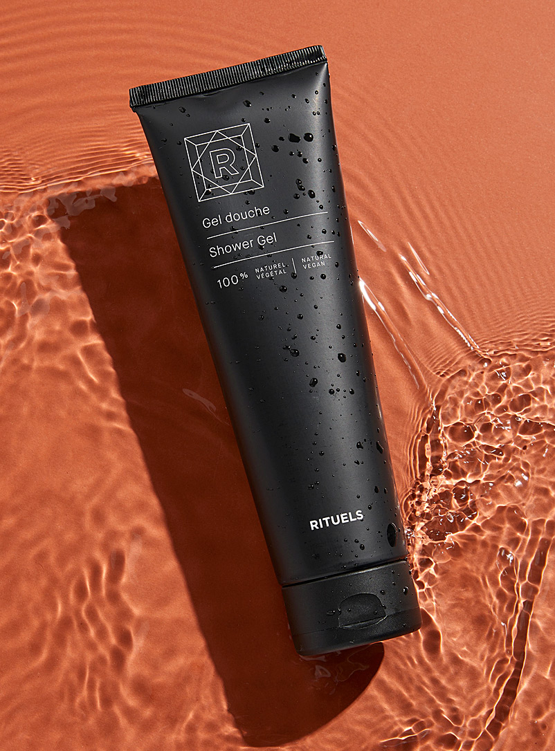 Rituels Black Natural shower gel for men