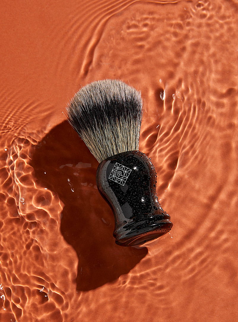 Rituels Black Synthetic shaving brush for men
