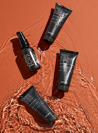 Rituels Black Discovery set for men
