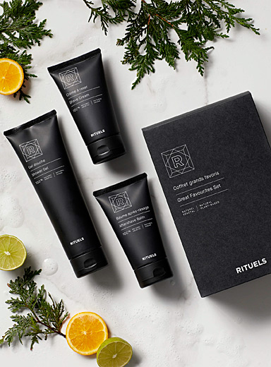 Rituels Black Great favourites set for men
