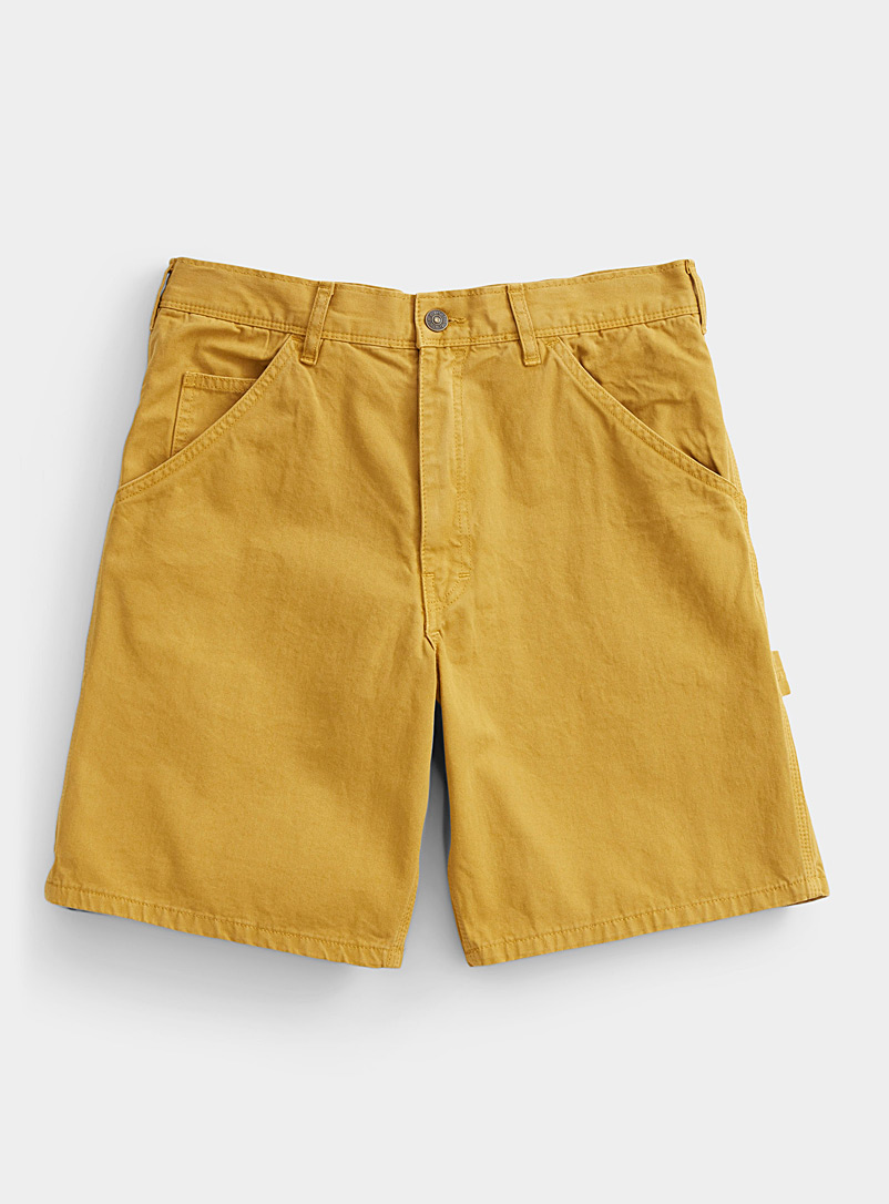 Stan Ray: Le short charpentier Jaune or pour homme