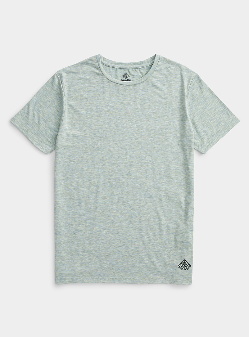Super Massive Green REPREVE® heathered T-shirt for men