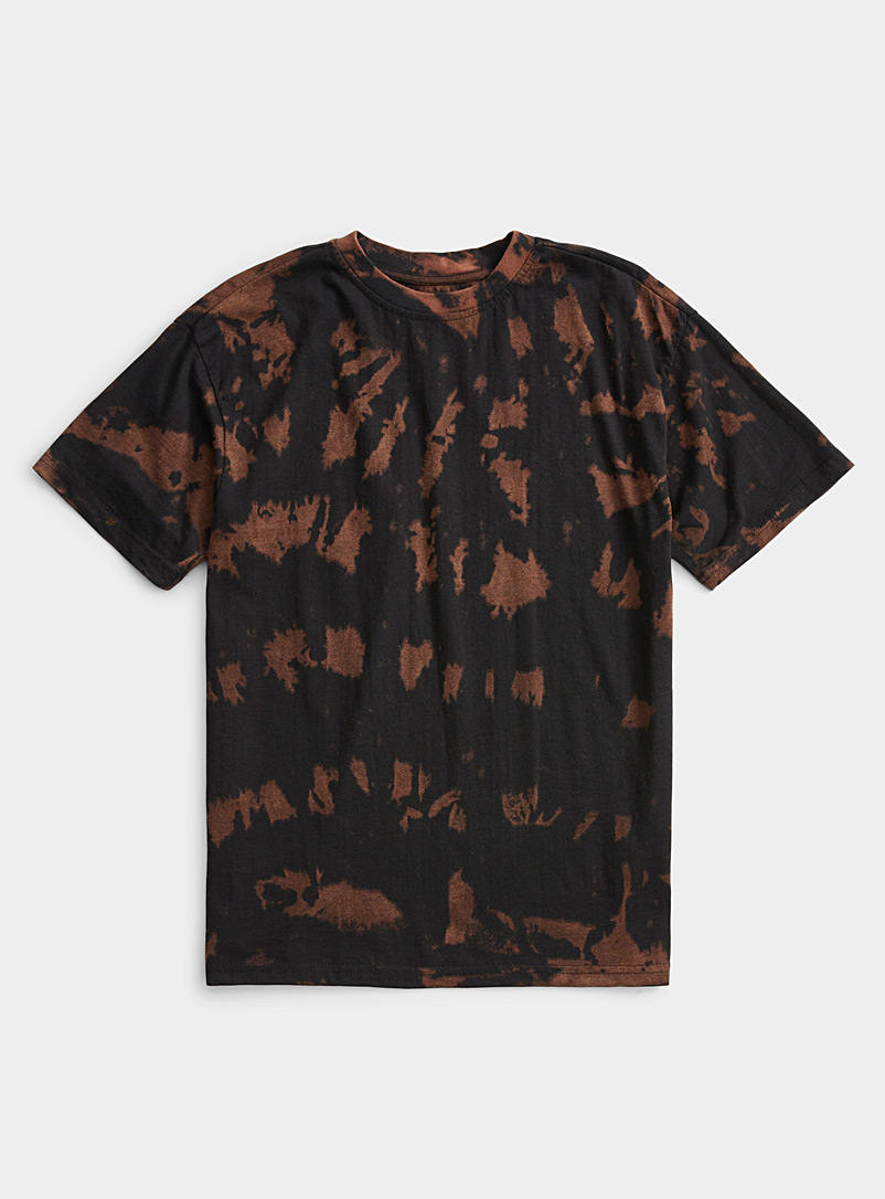 Super Massive Black Rorschach tie-dye T-shirt for men